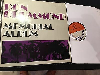 REGGAE Don Drummond ' memorial' uk trojan orig