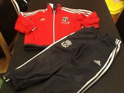 Kids ADIDAS LFC Tracksuit Top Bottoms  AGE 4-5years.