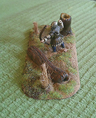 Vignette 28mm English Archer at Crecy - Long OOP Citadel