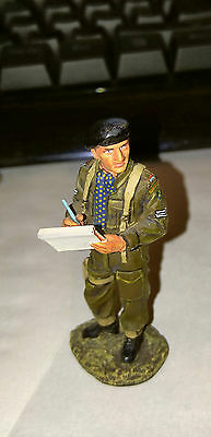 King and Country - British Tank Commander Miniature - dismounted