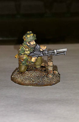 28mm Bolt Action Miniatures painted - British Airborn (3 Figures)