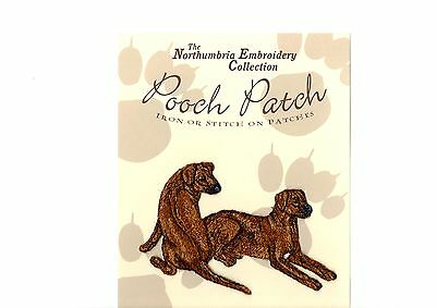 Rhodesian Ridgeback  EMBROIDERED  Pooch Patch