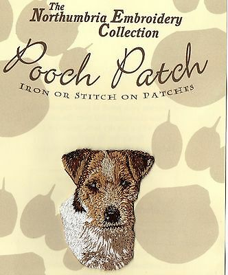 Jack Russell Terrier  EMBROIDERED  Pooch Patch
