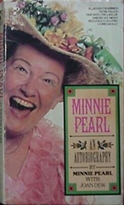 Minnie Pearl Autobiography, 1982 Book