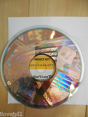 BRAND NEW Commercial Microsoft Windows Enterprise Server 2003 + Product Keycode