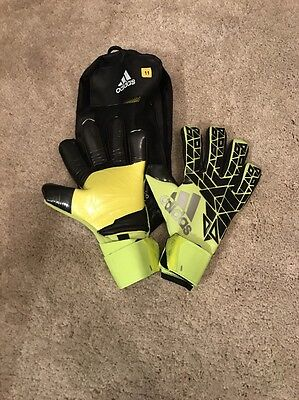 Adidas Ace Transition Pro Goalkeeper Gloves New Sz 11 Rrp £80