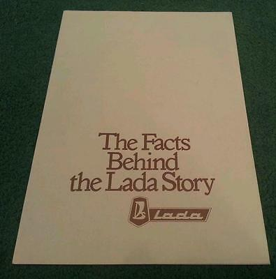 1978 1979 The Facts Behind The Lada Story - Uk Brochure 1200 1300 1500 1600