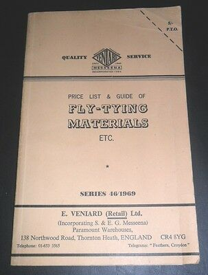 A 1969 FLY-TYING MATERIALS -Illustrated throughout price guide