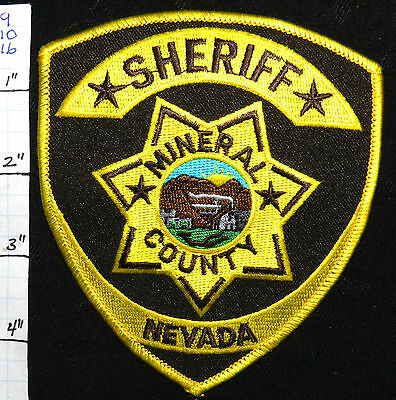 Nevada, Mineral County Sheriff Dept Vers 1 Patch