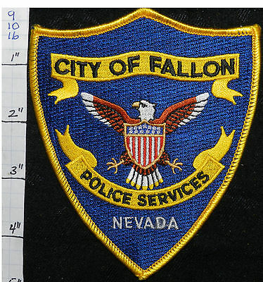 Nevada, Fallon Police Dept Vers 3  Patch