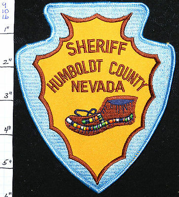 "Nevada, Humboldt County Sheriff Dept 6"" Patch"