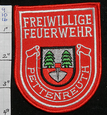 Germany, Pettenreuth Freiwillige Feuerwehr Fire Dept Patch