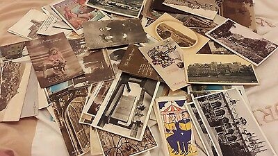 100  postcards from early 1900s onwards (LOT 2)