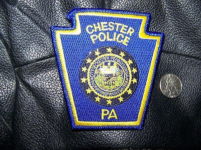 Chester, Pa Police Patch