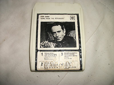 8 Track Tape - John Barry - Theme From The Persuaders