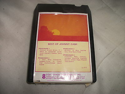 8 Track Tape - The Best Of Johnny Cash