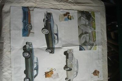 Classic Rover 3 Litre Mk2  And Coupe Model Sales Literature