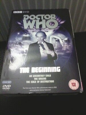 Dr Who DVD The Beginning