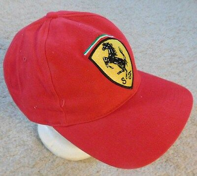 New Old Stock Ferrari Baseball Style Hat Official Licensed Product