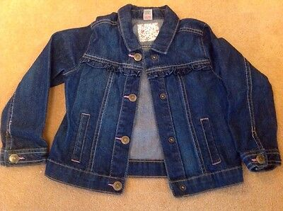 girls  blue denim jacket age 2-3