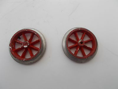 2 replacement wheels for Hornby No.1 / No. 0 / M3 - pre 1931