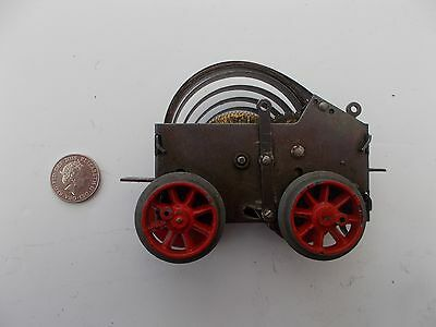 "Hornby ""O"" gauge mechanism - Pre War - red wheels"