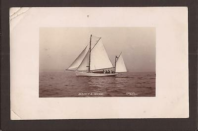 Sailing Vessels. Bonita R.Y.Y.C. Spurr`s Series, Bridlington RP.