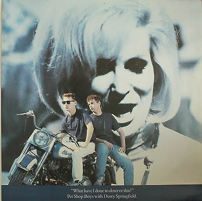 """PET SHOP BOYS WITH DUSTY  - What Have I Done  / A New Life [SP 45 RPM 12""""]"""