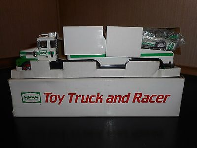 Hess Truck 1988 Truck And Racer In Mint Condition W/box Isssue