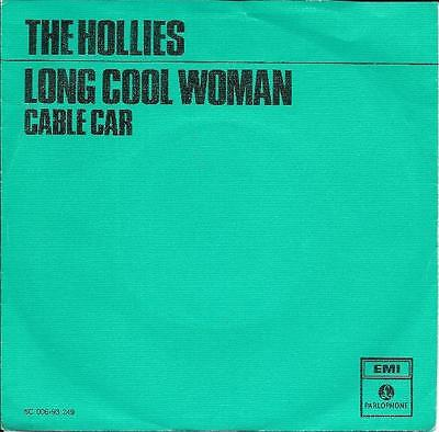 The Hollies 45 Long Cool Woman+Ps Holland Rare