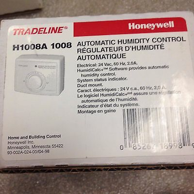 Honeywell H1008a Automatic Humidity Control regulator