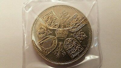 GB 5 Shilling Crown 25 Pence 1953 Coronation Coin