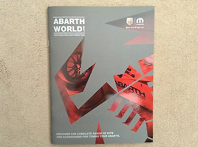ABARTH WORLD Performance Kits, Accessories & Merchandise Catalogue (40 pages)