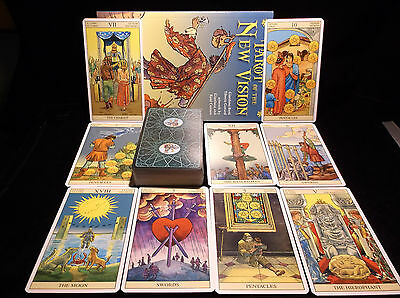 Brand New! Tarot Of The New Vision Great For Beginners Or Experts Open For Pics