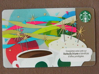 STARBUCKS CARD ( to collect no value ) FRANCE  2015