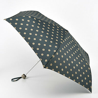 Cath Kidston Minilite Folding Umbrella - Button Spot Forest