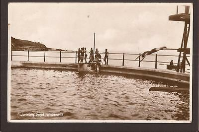 Whitehead. Lido. Swimming Pool. Diving Board. RP.