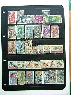 CZECHOSLOVAKIA 1960s - 7 COMPLETE SETS - MNH  (LOT 2)