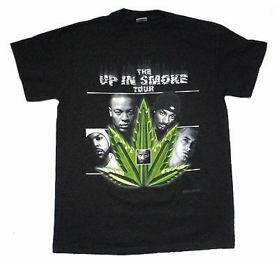 Up In Smoke Tour Dr. Dre Ice Cube Eminem Snoop 2000 Tour Shirt Med New NOS Mint