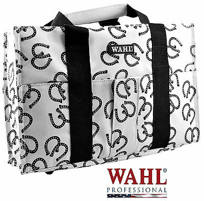 WAHL HORSE SHOE Grooming TOTE/TACK BAG Storage Clipper/Blade/Tool/Accessory Case