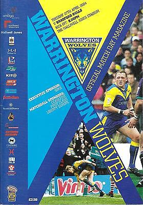 Warrington v Bradford - Super League - 2004