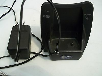 AT&T 2.4GHz #1480 CHARGING CRADLE FOR A HANDSET EXTENSION TELEPHONE