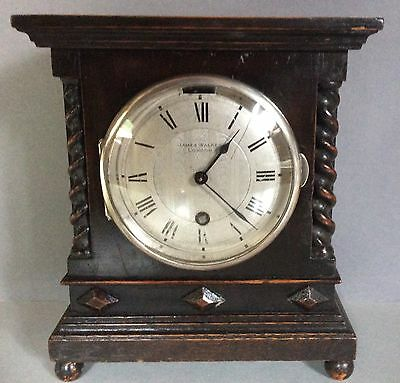 Antique Oak Cased Mantle Clock