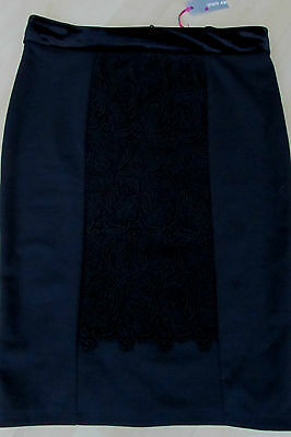 Stunning Black Per Una Skirt Brand New With Tags - Size 10