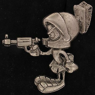PIN Marvin The Martian WARNER BROS LOONEY TUNES WB STORE Pewter TIE TACK 4007