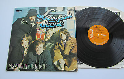 Liverpool Scene - Bread On The Night. 1969 Rca Lp. Andy Roberts