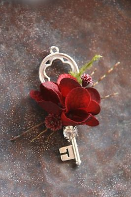 Old look new antique vintage skeleton key 12 in 3 colors WEDDING craft steampunk