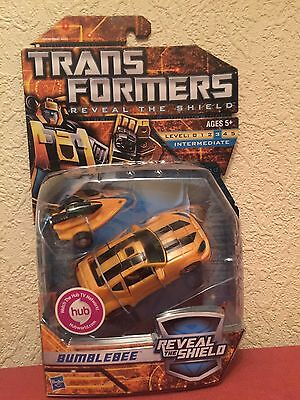 Transformers Reveal The Shield Bumblebee MOSC