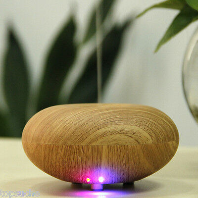 LED Essential Oil Ultrasonic Air Mist Humidifier Purifier Aroma Therapy Diffuser