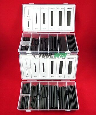 254 pc Heat Shrink Tubing Wire Wrap Cable Sleeve Assortment